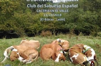 I Jornada de Caza del Club del Sabueso Español en el Valle. El Bierzo (2018)